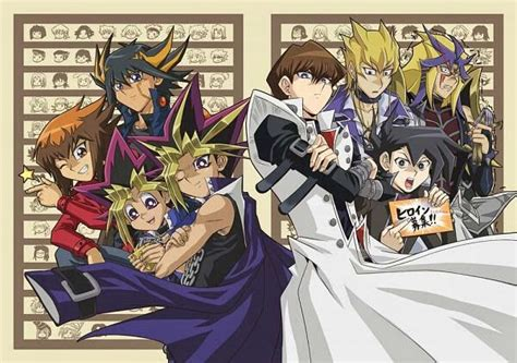 YuGiOh protagonists and antagonists