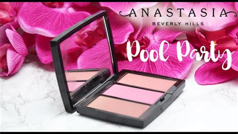 Anastasia Beverly Hills Blush Trio - Pool Party Review