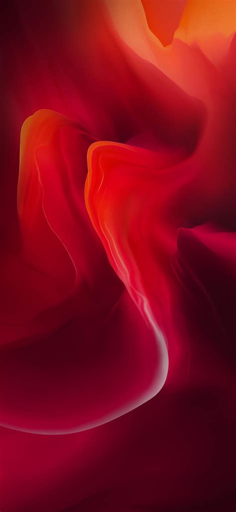 OnePlus 6 Red Stock Wallpaper #Red - Wallpapers Central