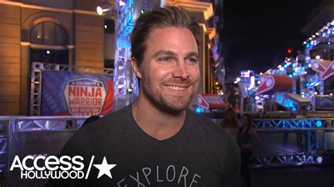 Stephen Amell Talks Competing On 'American Ninja Warrior