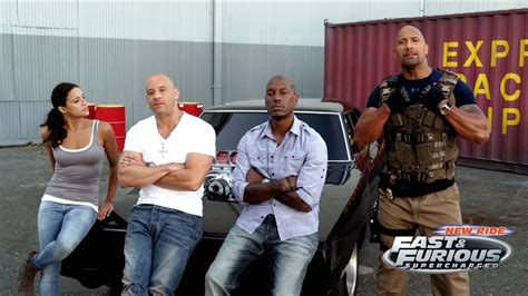 Making of Fast & Furious Supercharged at Universal Studios