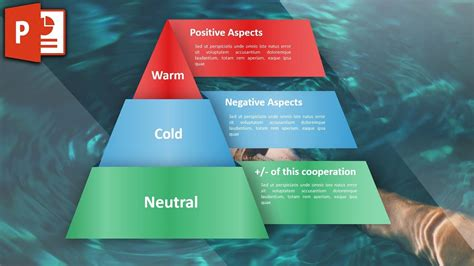 Modern Infographic in PowerPoint - Triangle Chart Design