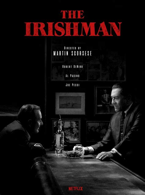 New Trailer For Martin Scorsese's 'The Irishman' Has Been