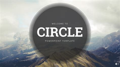 Circle - PowerPoint Template - YouTube