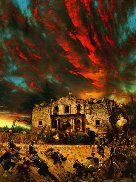 The Siege of the Alamo by Howard David Johnson   Paintings