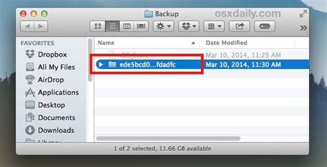 How to Make a Copy of iPhone & iPad Backup Files
