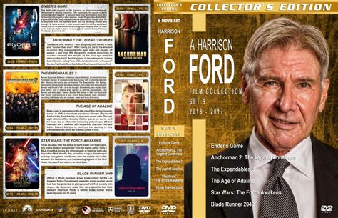 Harrison Ford Film Collection - Set 9 (2013-2017) R1