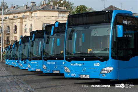 First Mercedes-Benz Citaro buses delivered to Budapest