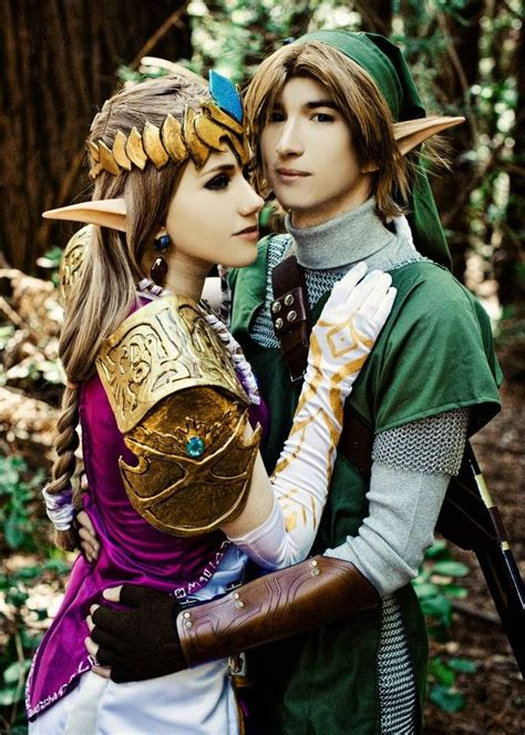 Inarguably The Best Link And Princess Zelda Cosplay