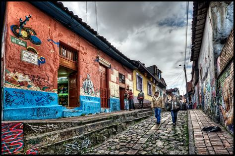 Bogota, Colombia | La Candelaria is the historic part of