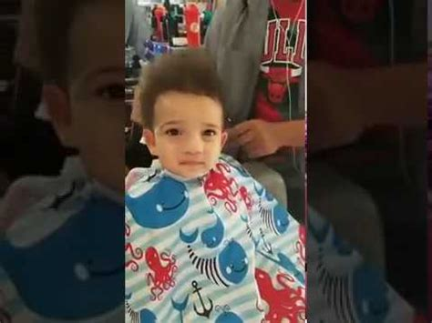 My Grandson's First Haircut (2017) - YouTube