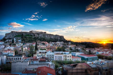 Acropolis Sunset - (HDR Athens, Greece) | Want to learn
