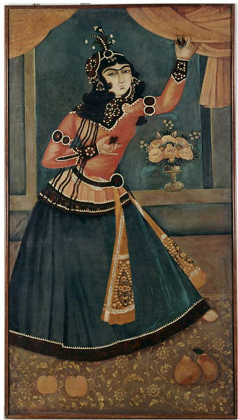 Lady Dancing and Playing Castanets (Oil painting) | V&A