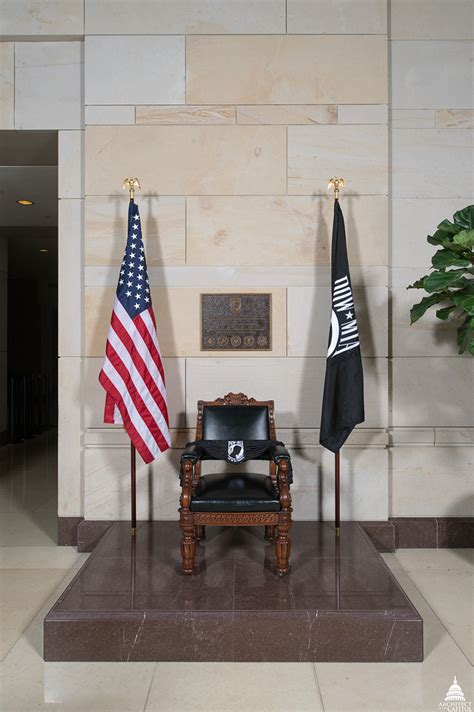 POW/MIA Chair of Honor   Architect of the Capitol