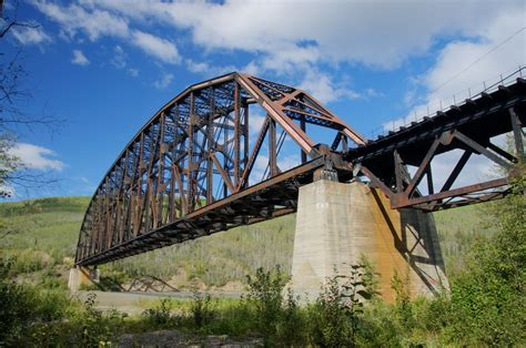 Mears Memorial Railroad Bridge (HDR) - Nenana, Alaska | Flickr