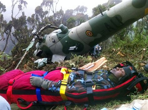 Rescuers find missing bodies in Uganda helicopter crash